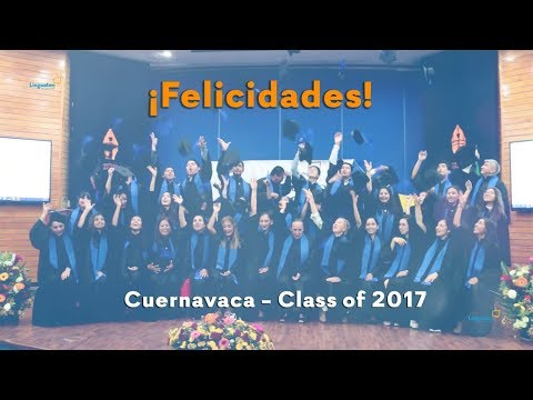 EGRESADOS LINGUATEC CUERNAVACA 2017