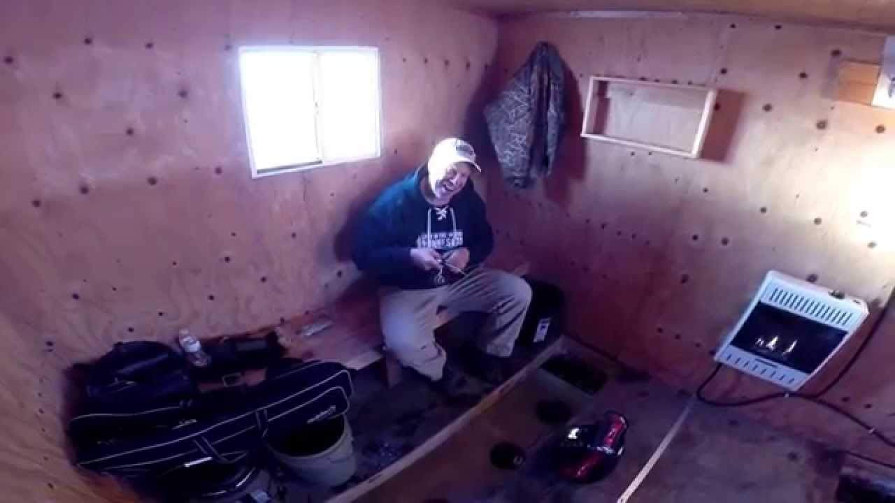 Lake of the Woods MN IceFishing Report, December 4, 2014