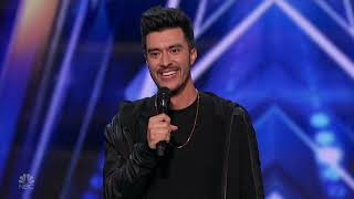 America's Got Talent 2020 Vincent Marcus Full Performance And Judges Comments S15E01