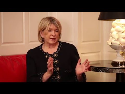 Interview with Martha Stewart, Founder, Martha Stewart Living
