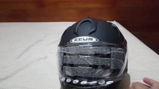 Unboxing dan review Helm fullface  Zeus ZS-806 Indonesia