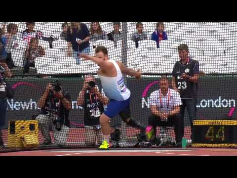 Aled Davies | Gold Men's Discus F42 | Final | London 2017 World Para Athletics Championships