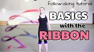 BASIC RIBBON HANDLING FΟR RHYTHMIC GYMNASTS: FOLLOW-ALONG TUTORIAL