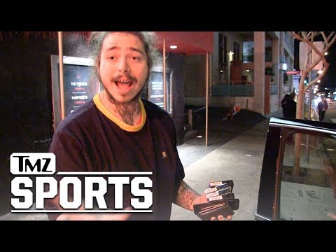 Post Malone Says He 'Partied & Got Weird' with Ezekiel Elliott | TMZ Sports