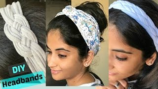 DIY: 3 ways to make stylish headbands from old T-shirts