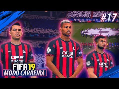 ESTREIA na CHAMPIONS LEAGUE!! FIFA 19 MODO CARREIRA #17
