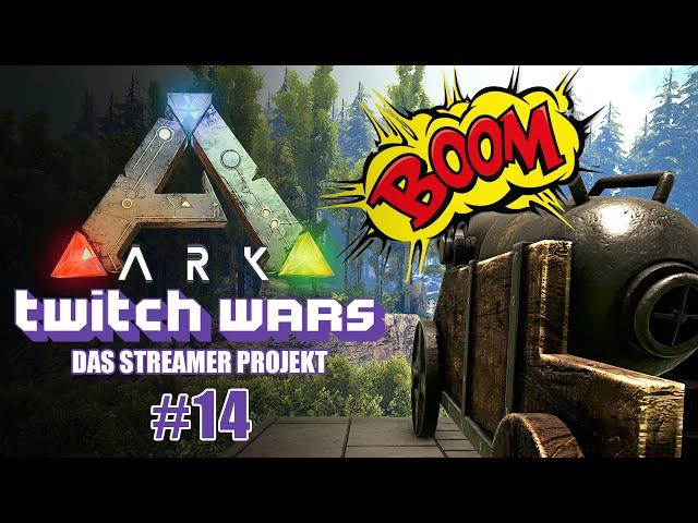 Raid auf Fruchtzwerge 🦖 ARK Twitch Wars #14 [Lets Play Deutsch]