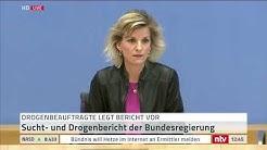 Live: Die Drogenbeauftragte stellt den Drogen- und Suchtbericht 2019 vor