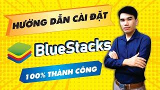 Hướng dẫn cách Cài Đặt Bluestacks 5   Phần mềm giả lập Android trên pc nhẹ nhất