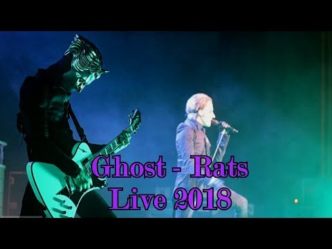 "Ghost - Ashes & Rats ""Live 2018"" (Multicam + great audio)"