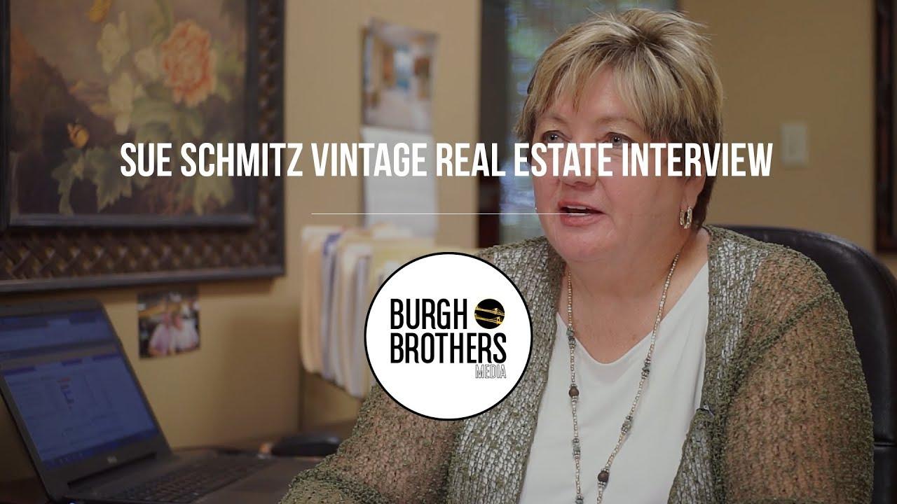 Sue Schmitz Vintage Real Estate Interview - YouTube