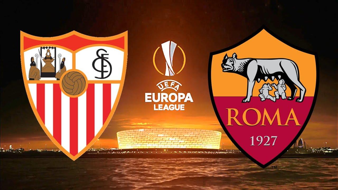 Sevilla vs AS Roma   UEFA Europa League 2019/2020   Round of 16 ...