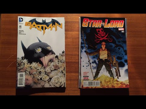 ASMR - New Comic Wednesday! 01.20.2016 Releases from DC & Marvel