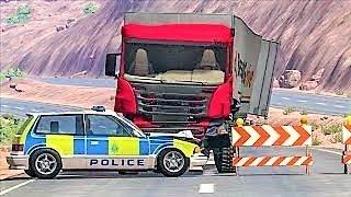 Мультики про #машинки - Новые полицейские учения Погоня и Грузовики| Самые новые #Мультфильмы 2017