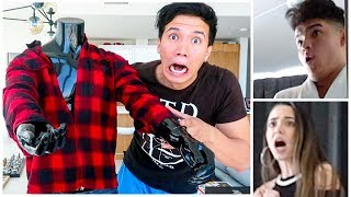 THERE IS SOMETHING IN MY CLOSET!! (MANNEQUIN PRANK)