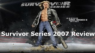 WWE Survivor Series 2007 Review