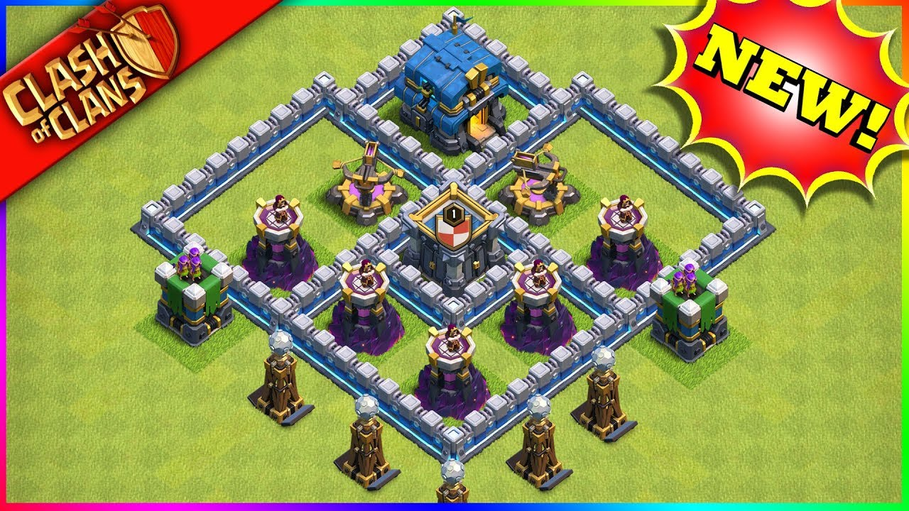 HERE'S WHAT THE NEW Clash of Clans BUILDINGS LOOKS LIKE! (blue walls & more!)