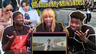 Gambar cover j-hope 'Chicken Noodle Soup (feat. Becky G)' MV | (OUR MOM'S REACTION)