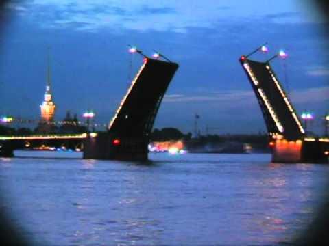 TJ Travel Tour - Part Ten - White Nights, Boat Tour, Neva River - St. Petersburg, Russia