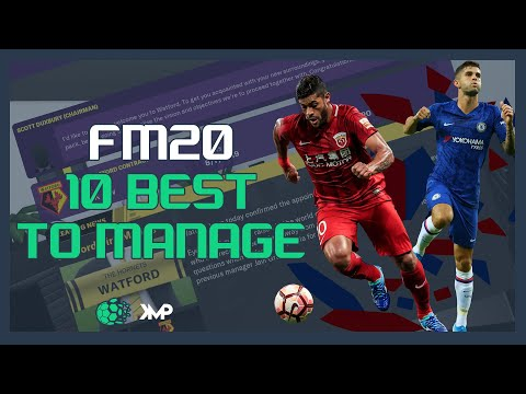 10 Most Entertaining Teams To Manage In FM20