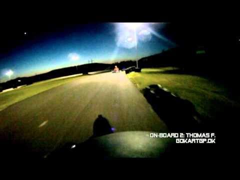 Gokart-GP, Round 2 - 2012, Heat 1, Holbæk Gokartland, DK