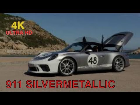 Silver Metallic PORSCHE 911 Speedster GT Review