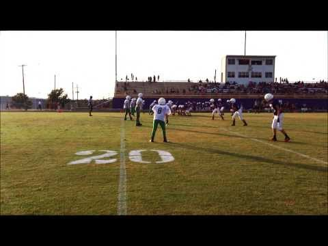Marble Falls Middle School Winning TD - Keegan Deering #11