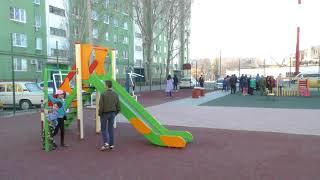 В поселке «Свободный» открылась новая детская площадка