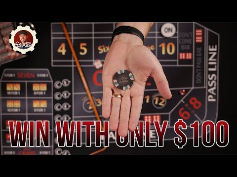 How to Win at Craps with Little Money - craps betting strategy