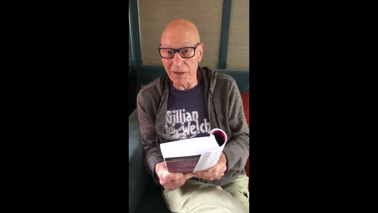 Sir Patrick Stewart Sparks Love Of Language With #ASonnetADay