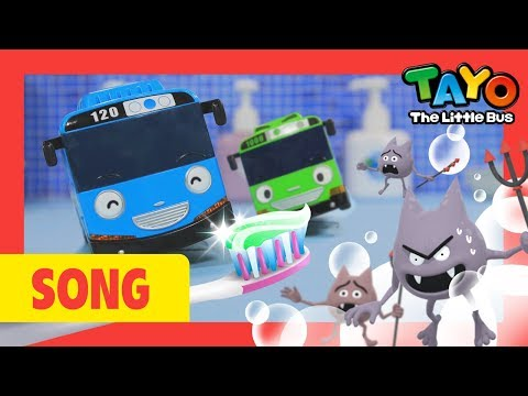 Tayo l Tooth Brushing Song l Nursery Rhymes l Healthy Habit Song l Tayo the Little Bus