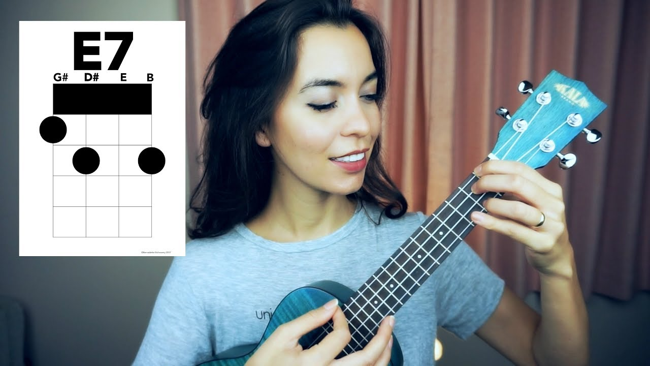 Easy e7 chord tutorial ukulele school youtube easy e7 chord tutorial ukulele school hexwebz Images