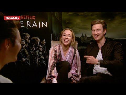 Jasper sprak met de acteurs van 'The Rain' (Netflix)