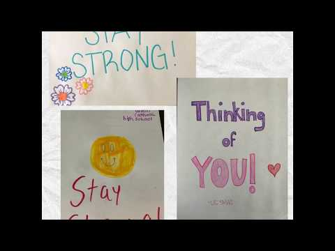 Union Catholic Regional High School Get Well/Stay Strong Cards