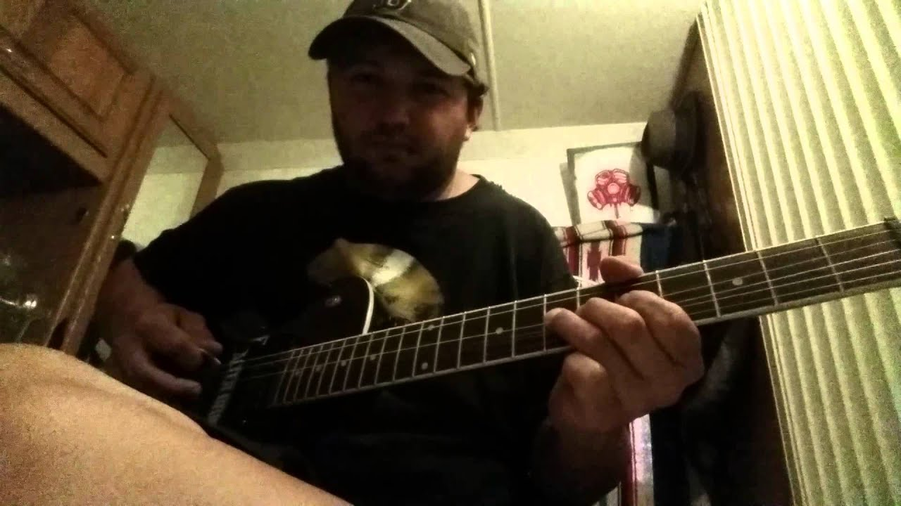 How to play Whiskey and Weed by Framing The Red - YouTube