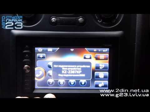 Переходная рамка 2DIN. Установка универсальной магнитолы с GPS в Renault Megane