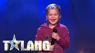 Sjuåriga Emina Ajvazovski Golvar Talang Juryn Med Fenomenal Breakdance   Talang TV4