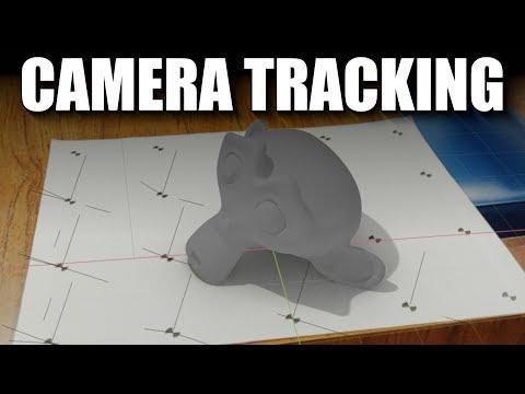 Blender 2.8 Camera Tracking Tutorial (part 1)