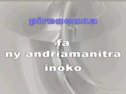 Andriamanitra inoko - Bessa -  KARAOKE