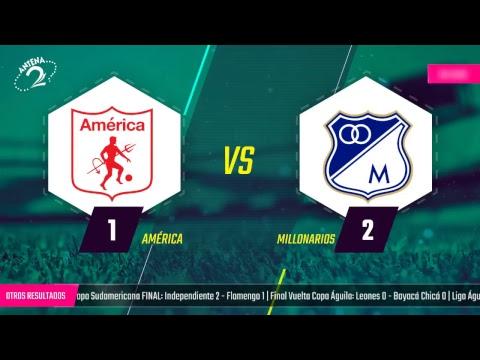 EN VIVO: América vs Millonarios