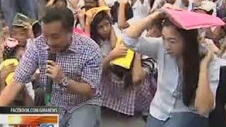 NTG: Earthquake drill, isinagawa sa Taguig bilang paghahanda sa malakas na lindol