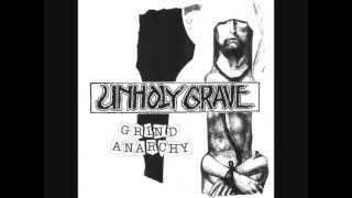 "Unholy grave - Grind anarchy 7"" Full Ep"