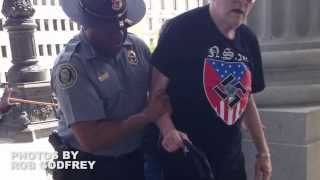 VIDEO: Black officials that helped KKK during rally explain deed, photo that went viral