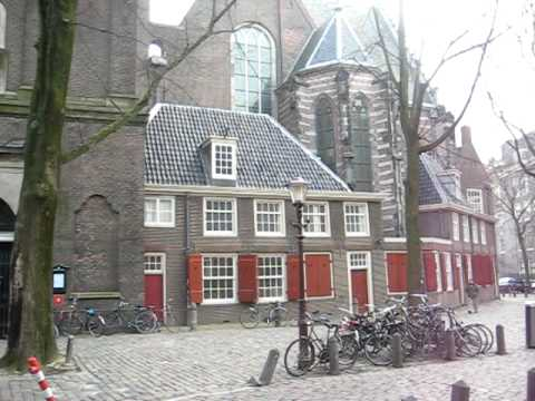 Amsterdam Oude Kerk - red light district