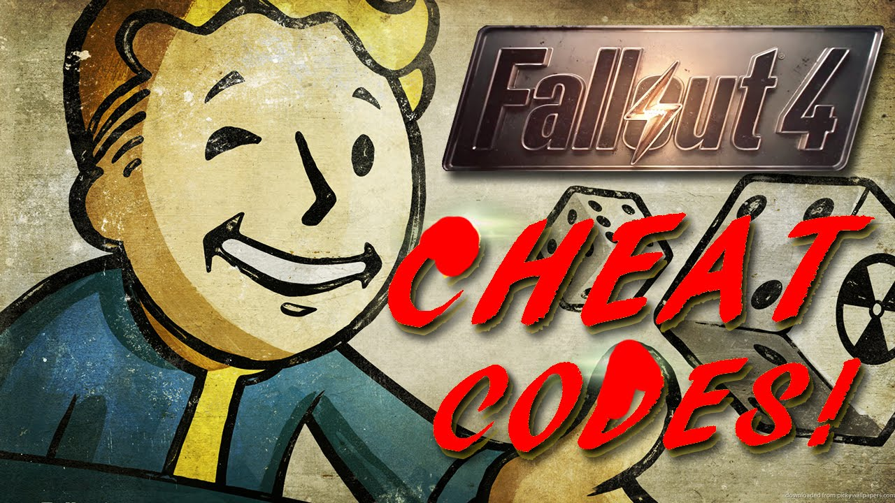 cheat codes for fallout 4 pc