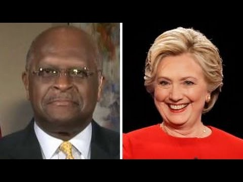 Herman Cain: Clinton's questions were 'all softballs'