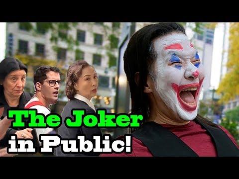 I BECAME THE JOKER!!  Joker dance in public