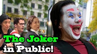 I BECAME THE JOKER!! - Joker dance in public