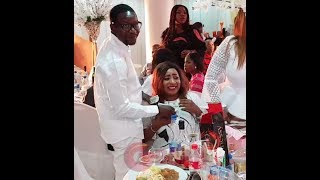 Like SaidiFaithia BalogunMide Martins HubbyAfeez Owo Sprays Money On Her Mercy Aigbes Birthday