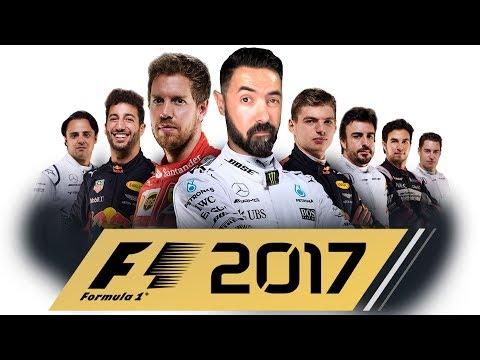 BEM VINDOS À FORMULA 1 | F1 2017 Carreira | LIVESTREAM#214